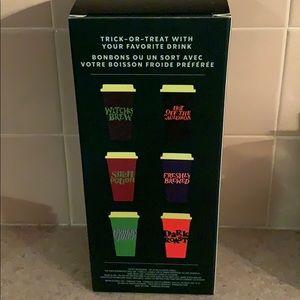 Starbucks Dining - Starbucks 6 reusable cups